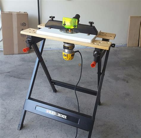 Diy-Workmate-Router-Table