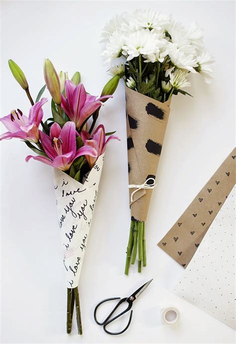 Diy-Wrap-Flower-Bouquet