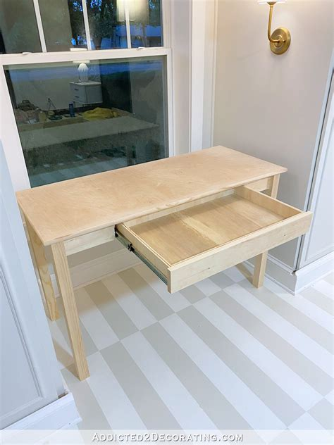 Diy-Writing-Desk-With-Drawers