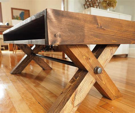 Diy-X-Leg-Coffee-Table