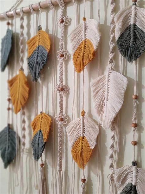 Diy-Yarn-Macrame-Wall-Hanging