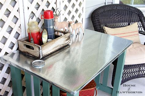 Diy-Zinc-Covered-Table
