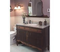 Best Diy bathroom vanity from old dresser