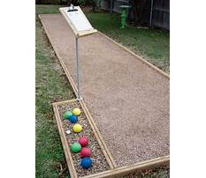 Best Diy bocce court