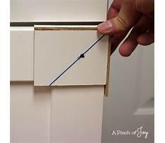Best Diy cabinet hardware template