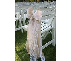 Best Diy chair bows for weddings.aspx