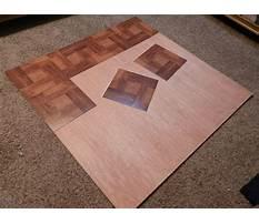 Best Diy chair mat for hardwood floor