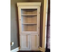 Best Diy corner hutch cabinet
