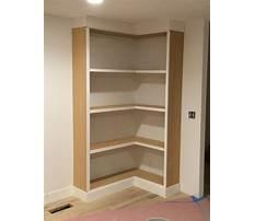 Best Diy corner shelf door