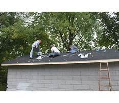 Best Diy garage roof