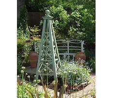 Best Diy garden obelisk trellis