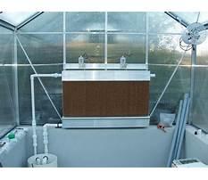 Best Diy greenhouse evaporative cooler