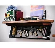 Best Diy gun safe shelves