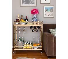 Best Diy home bar cart simple