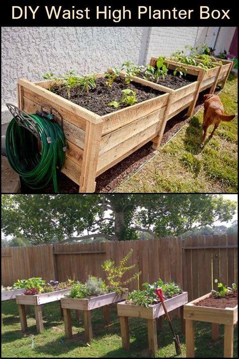 Diy-make-vegetable-planter-box