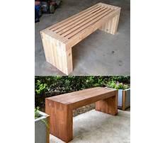 Best Diy outdoor bench seat plans