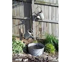 Best Diy outdoor water features.aspx