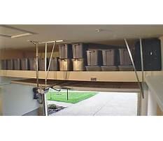 Best Diy overhead garage storage solutions