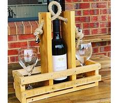 Best Diy pallet wine rack with glass holder