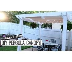 Best Diy pergola canopy easy outdoor diy lynette yoder