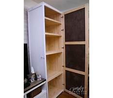 Best Diy storage cabinets with doors