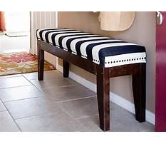Best Diy upholstered bench.aspx
