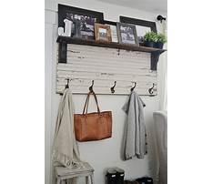 Best Diy wood coat rack