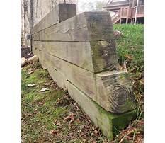 Best Diy wood retaining wall.aspx