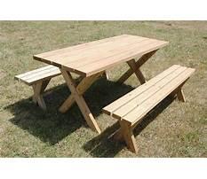 Best Diy wooden picnic bench plans