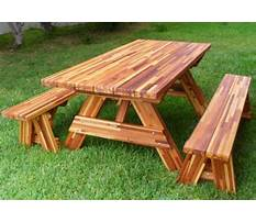 Best Diy wooden picnic table plans