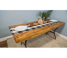 Best Diy woodworking how to make a folding table