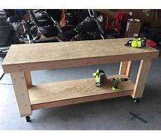 Best Diy workbench plans garage