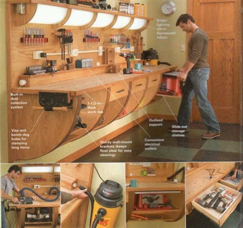 Do It Yourself Garage Workbench Plans