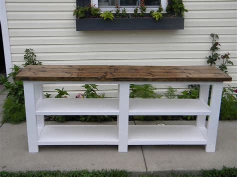 Do It Yourself Rustic Tv Stand