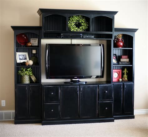 Do It Yourself Wall Entertainment Center