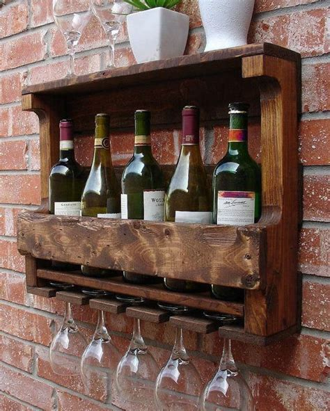 Do It Yourself Wall Mounted Wine Rack