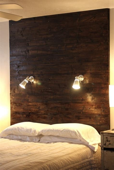 Do It Yourself Wood Headboard Ideas