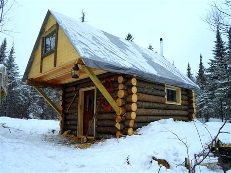 Do it yourself building a log home Image