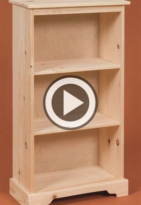Do-It-Yourself-Bookcase-Plans