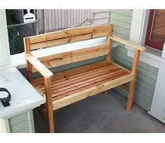 Best Do it yourself build a bench
