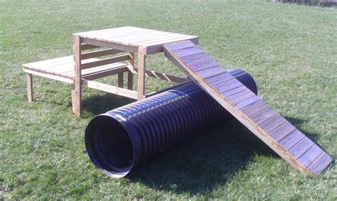 Dog Agility Wood Diy