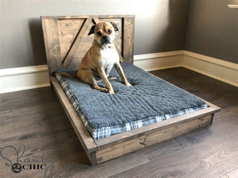 Dog Bed Building Plans