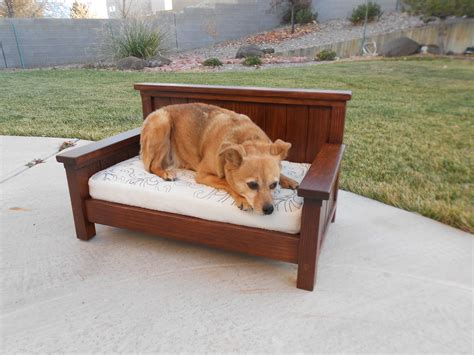 Dog Bed Diy Ideas Ana White Bench