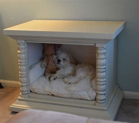 Dog Bed End Table Diy Plans