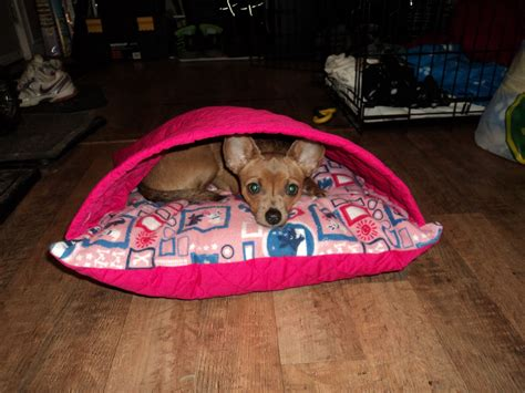 Dog Cave Bed Diy