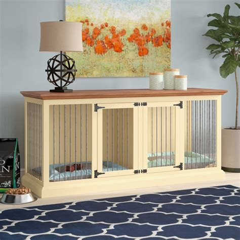 Dog Crate Credenza Plans