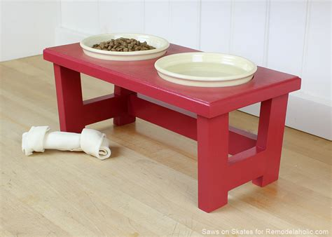 Dog Food Stand Diy Christmas