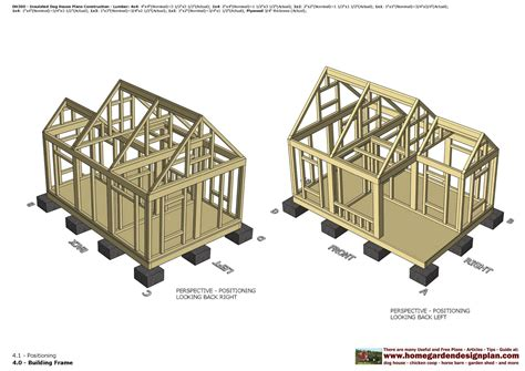 Dog House Plans For 2 German Shep