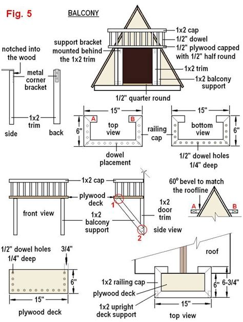 Dog House Plans Measurements On A Ruler