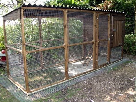 Dog House With Fence Blueprints For Chicken